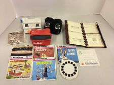 Vintage GAF Viewmaster Sawyers Reel Slides Stereo Pictures Reels Lot Album Photo