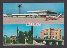 BOSNIA AND HERZEGOVINA ~ SARAJEVO ~ MOSQUE ~ ISLAM ~ Fine used postcard SCARCE