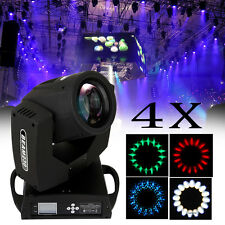4x 230W Moving Head Beam Light Zoom Gobo Luce 16 Facet DMX512 16/20CH DJ Pub KTV