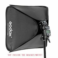 Godox 40x40cm Flash Softbox Bag Kit for Camera Studio Flash fit Bowens Elinchrom