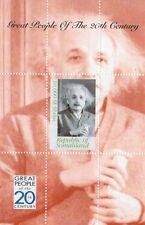 Excelentes personas de la 20th Century Albert Einstein Somalilandia sello Sheetlet