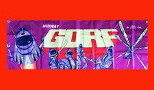 LARGE GORF Arcade Video Game Banner Flag Poster FREE SHIPPING