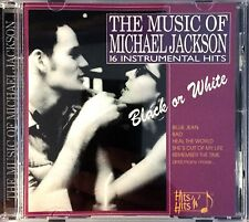 CD ALBUM THE MUSIC OF MICHAEL JACKSON 16 INSTRUMENTAL COLLECTOR RARE COMME NEUF