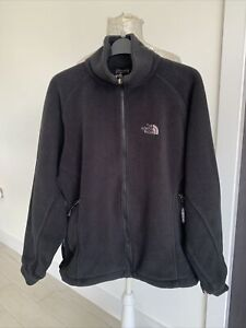 The North Face Women's Genesis Black Fleece Zip Up Jacket - Size UK XL