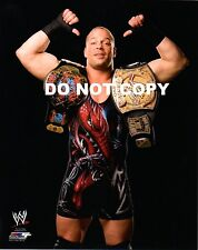 WWE PHOTO ROB VAN DAM WITH BELTS 8x10 WRESTLING PROMO