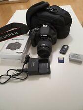 Canon EOS 600D 18.0 MP DSLR - Kit mit EF-S 18-55 IS Objektiv