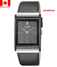 Citizen BL6005-01E Eco-Drive Strap Black Dial Men's Watch