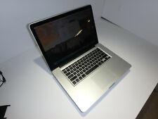 "Apple MacBook Pro ""Core i7"" 2.2 15"" Mid-2010 256gb SSD / 8gb Ram Laptop USED"