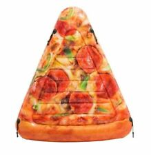 175 cm INFLATABLE PIZZA SLICE  Beach Swimming Pool Lounger Fun Float  Air Toy UK