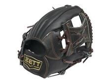 ZETT Pro Model 11.25 inch Black Baseball Infielder Glove