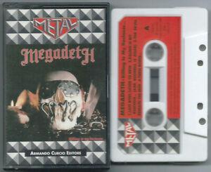 CASSETTE TAPE MEGADETH Killing is my (Curcio 85/92 ITALY) unique cover metal NM!