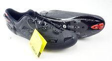 SIDI Spot Road Shoes Men's Size US 10.5 EUR 45 Matte Black 3 Bolt Carbon