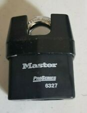 "Master Lock - Pro Series - 6327KAW1 - Commercial Shrouded - 2-5/8"" Padlock"