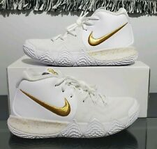 """Women's Nike iD Kyrie 4 """"Finals Gold"""" Basketball  Athletic Shoe Sneaker Size: 9"""