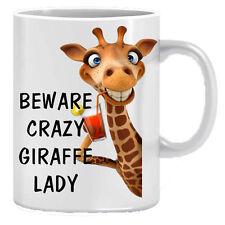 Attenzione Crazy GIRAFFE Novità Regalo Stampato Tè Caffè Tazza in ceramica