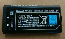 New Original Genuine OEM Nintendo DSi NDSi NDSiL Battery TWL-003 TWL-001 840mAh