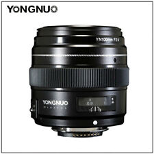 YONGNUO YN100MM F2 AF/MF Large Aperture Prime  LENS  For Nikon DSLR Camera