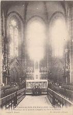 CHAVAGNES-EN-APILLERS intérieur de la grande chapelle du petit séminaire