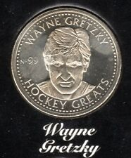 NHL 1996-97 Hockey Greats Coin #99- Wayne Gretzky  MINT CONDITION