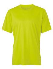 Abbigliamento da uomo giallo per palestra, fitness, corsa e yoga taglia L