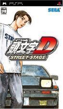 Used PSP Initial D Street Stage  Japan Import ((Free shipping))
