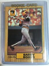 1987 O-PEE-CHEE Baseball #320 BARRY BONDS ROOKIE