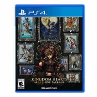 NEW KINGDOM HEARTS ALL IN ONE PACKAGE PLAYSTATION 4 PS4 SEALED FAST SHIPPING!
