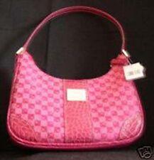 Liz Claiborne Purse Handbag Logo Berry Heritage NEW