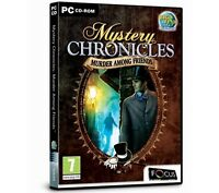Mystery Chronicles: Murder Among Friends (PC CD), Very Good Windows 7, PC, Windo