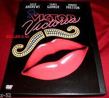VICTOR VICTORIA dvd JULIE ANDREWS Blake Edwards JAMES GARDNER cross dressing