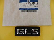Schritzug Emblem GLS chrom/schwarz Omega B  ORIGINAL OPEL 5177031