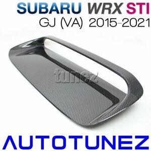 Carbon Fiber Air Hood Scoop Intake Vent Bonnet For Subaru WRX STI VA 2015-2020 A