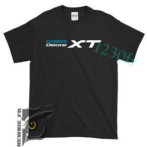 SHIMANO XT Fishing Cycling Rowing Mens T-SHIRT Size USA #422