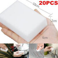 20PCS Magic Sponge Eraser Cleaning Melamine Multi-functional Foam Cleaner Pad