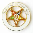 Masonic Order Eastern Star OES Large Lapel Pin Mason Freemason