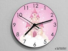 Cinderella Castle Wall Clock  - Kids Nursery Room,Teens Room - Wall Clock