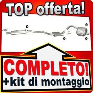 Scarico Completo per ALFA ROMEO 147 1.6 2.0 16V 2000-2008 Marmitta