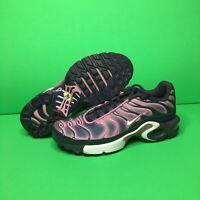 Nike Air Max Plus GS Gridiron Grey Size 6.5Y Womens 8 Purple 718071 006 Running