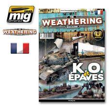 Ammo Mig Jimenez The Weathering Magazine Issue 9. K.O. ET EPAVES Fran?aise #4258