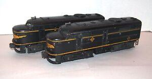 Lionel Postwar 2032 Erie Alco Diesel AA Locomotives! PA