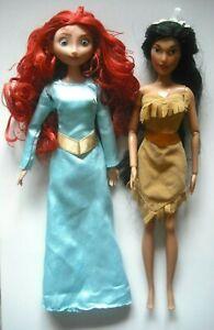 Disney Merida & Pocahontas Dolls