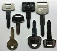 Suzuki Motorcycle Keys Cut to Code Replacement Spare New Ignition precut Key (Fits: Suzuki)
