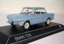 Minichamps 1/43 BMW 700 blaugrau in Werbebox #9008