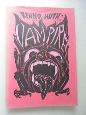 Benno Hutz Vampire 30 Linol-Schnitte .. Macht Einfluß sonderbaren Wesen
