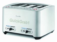 Breville BTA840XL Die-Cast 4-Slice Smart Toaster Extra Wide Slots Brand NEW