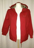 Quechua Boys Hooded Jacket Coat Eur Size  Age 10 Fully Lined Red