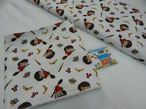 Harry Potter Burp Cloth 1 Only Toweling Back