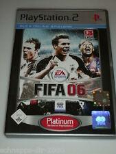 EA SPORTS FIFA 06 PLATINUM KOMPLETT MIT ANLEITUNG PLAYSTATION 2 PS2 FUSSBALL