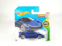 Hot Wheels Exotics McLaren P1 - Dark Blue - Short Card NEW HTF