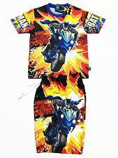 Batman Kid BoyOutfit Set Polyester T-Shirt+Shorts #7700 Size L age 6-8